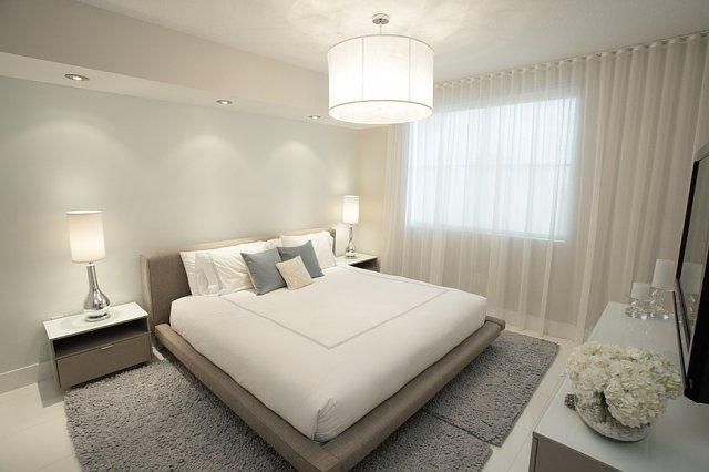 спальни в стиле минимализм