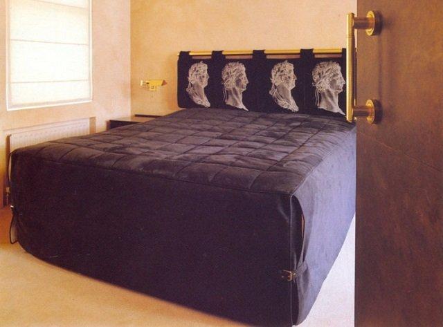 спальня с мужским характером