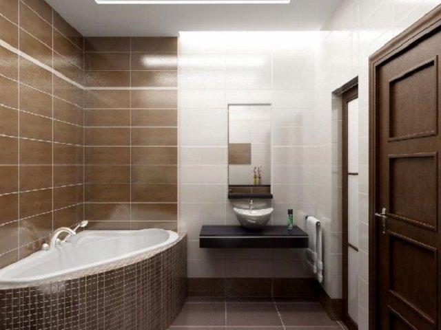 стильный дизайн ванной комнаты своими руками