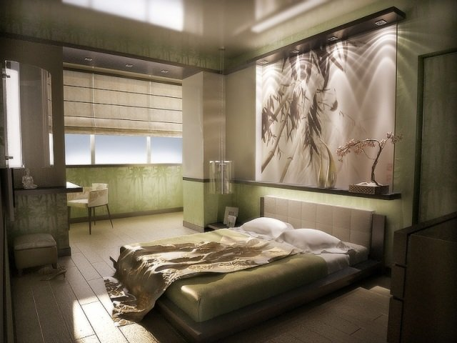 стильный дизайн уютной спальни своими руками