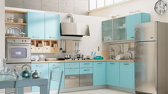 свет и простор на кухне