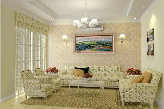 так выглядит стиль прованс в интерьере гостиной