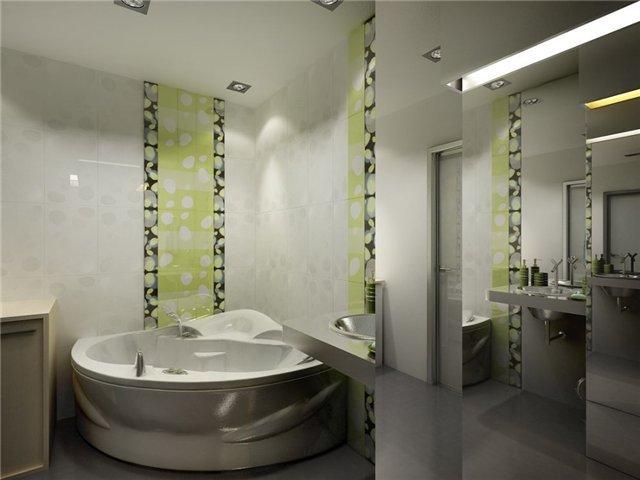 таким бывает интерьер небольшой ванной комнаты
