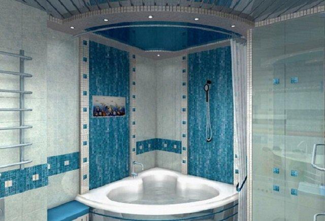 угловые ванны