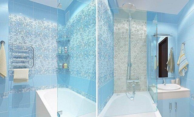 ванная комната 150х135
