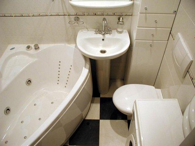ванная комната 170х170 площадью
