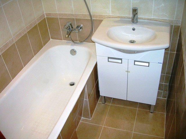 ванная размерами 150х135