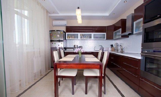 вариант 12 метровой кухни