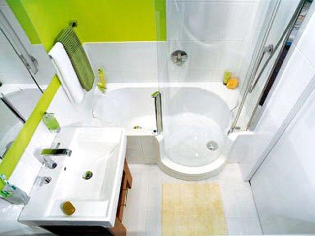 вариант дизайна ванной в панельном доме