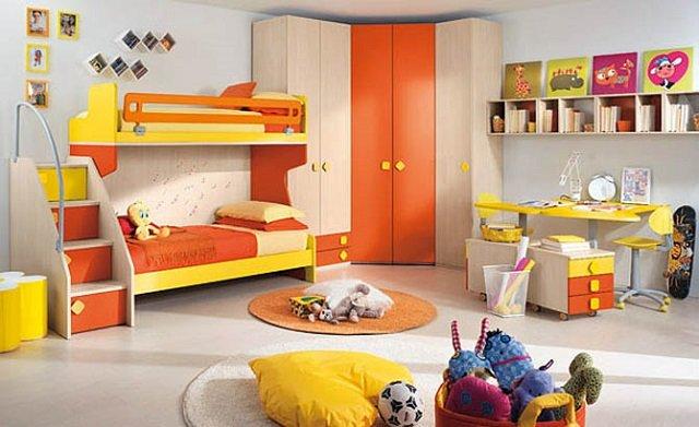 вариант комнаты для двух детей