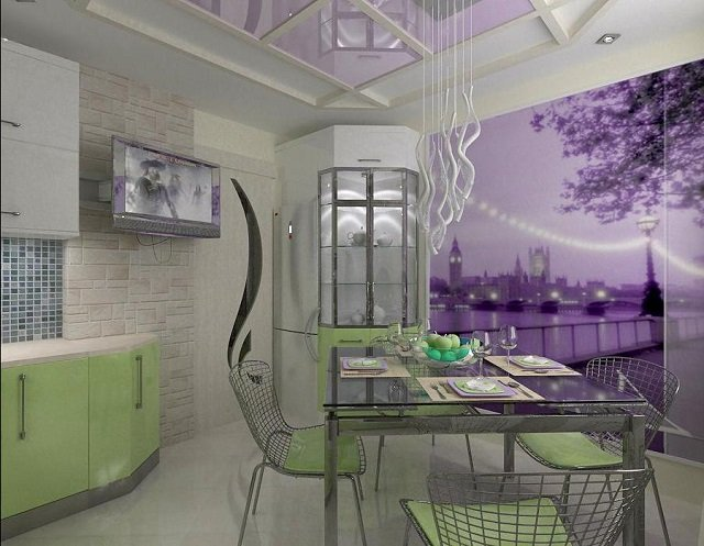 дизайн классического потолка