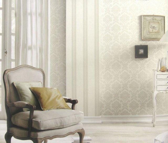дизайн обоев с вензелями в интерьере вашего дома