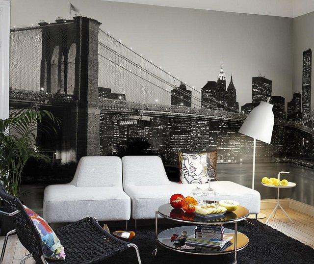 фотообои на стену мост: