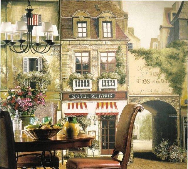 красивые фото обои города в интерьере вашей комнаты