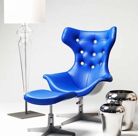 совершенный стул  Evitavonni Blue