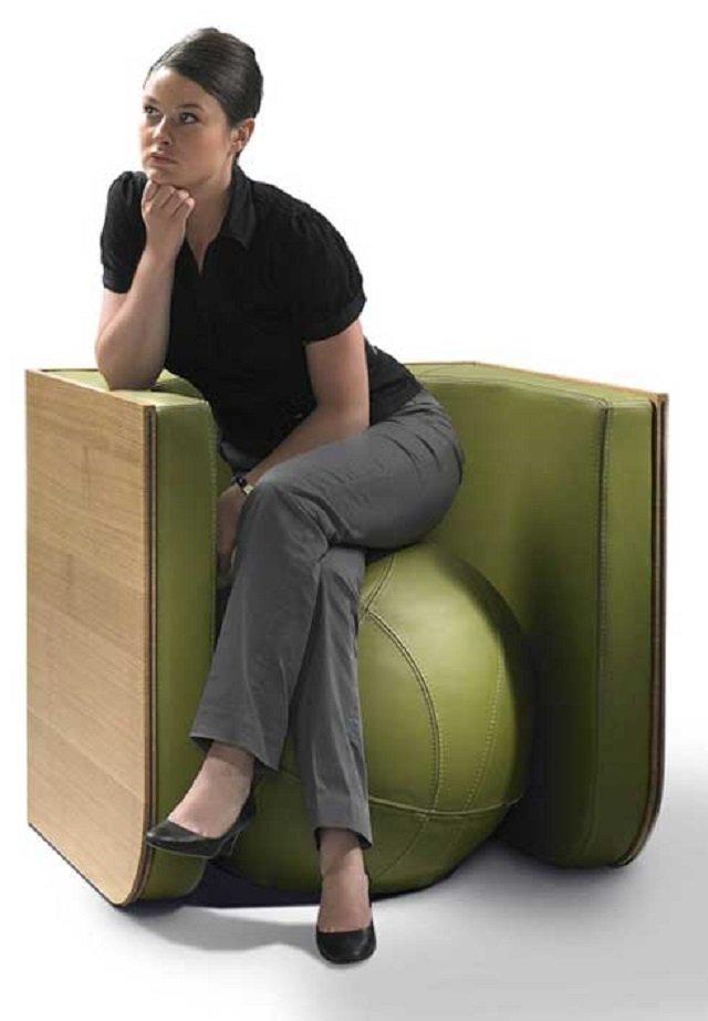 стол-стул-трансформер от Эллен Экторс