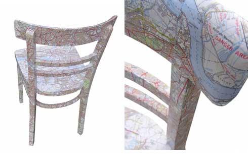 стул с картой