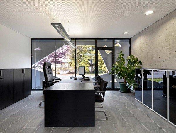 дизайн интерьера переговорной комнаты