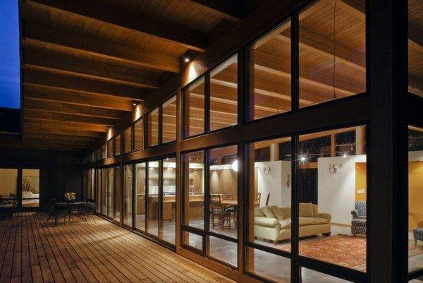 дизайн террасы частного дома фото