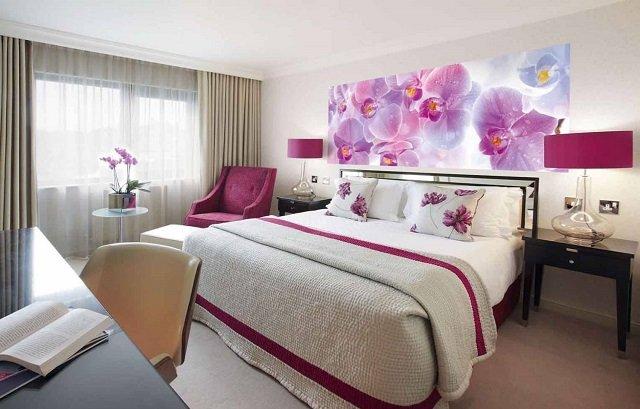 фотообои орхидеи в интерьере вашей комнаты