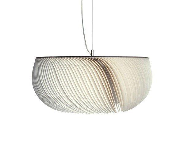 лампа в стиле оригами