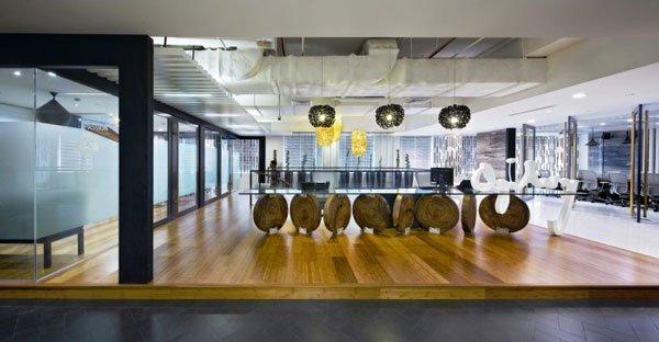 офисный дизайн интерьера