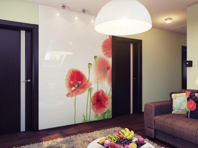 Универсальный цветочный дизайн: от функциональности помещения до стиля интерьера. Маки, ландыши, ромашки, орхидеи, розы, тюльпаны, лилии – изображения этих и миллионов других обитателей красивого мира цветов эстетично преобразят интерьерные композиции жилых помещений и.