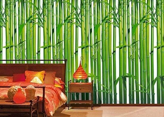 фотообои бамбук в интерьере