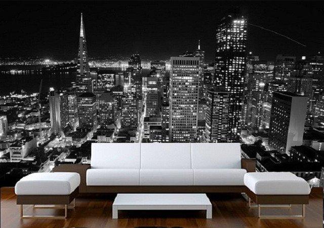 фотообои нью йорк в интерьере самые популярные среди городских панорам