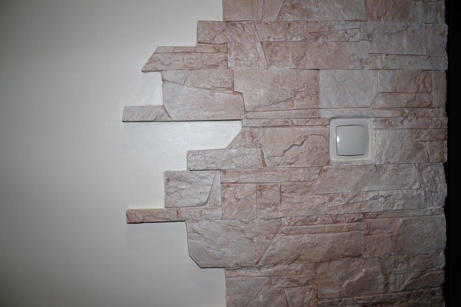Декоративный искусственный камень своими руками