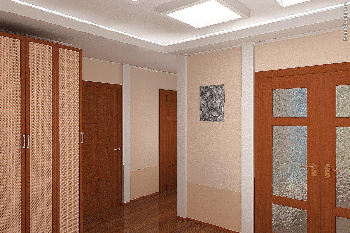 Интерьер в квартире с межкомнатными дверьми
