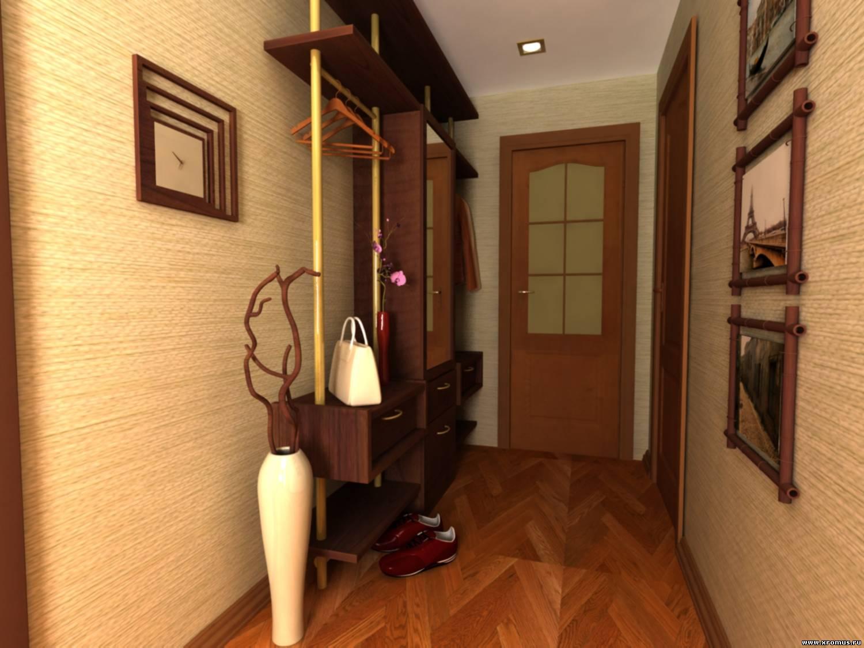 Дизайн прихожей коридора квартире
