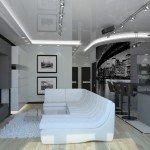 дизайн гостиной с кухней фото