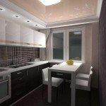 дизайн очень маленькой кухни фото