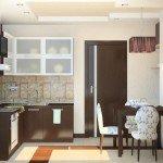 дизайн интерьера маленькой кухни фото