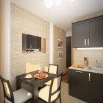 дизайн маленьких кухонь фото