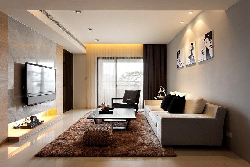 Модерн интерьер квартиры