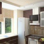 планировка кухни 11 кв м фото