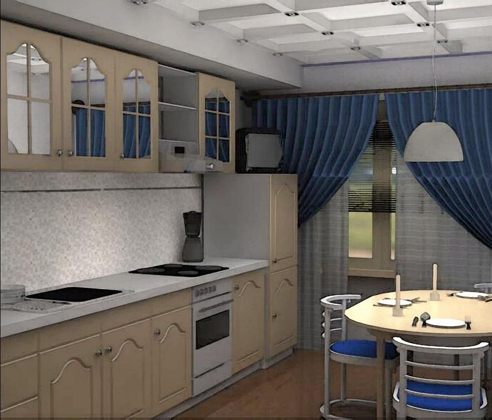 Дизайн кухни фото 2016 9 кв