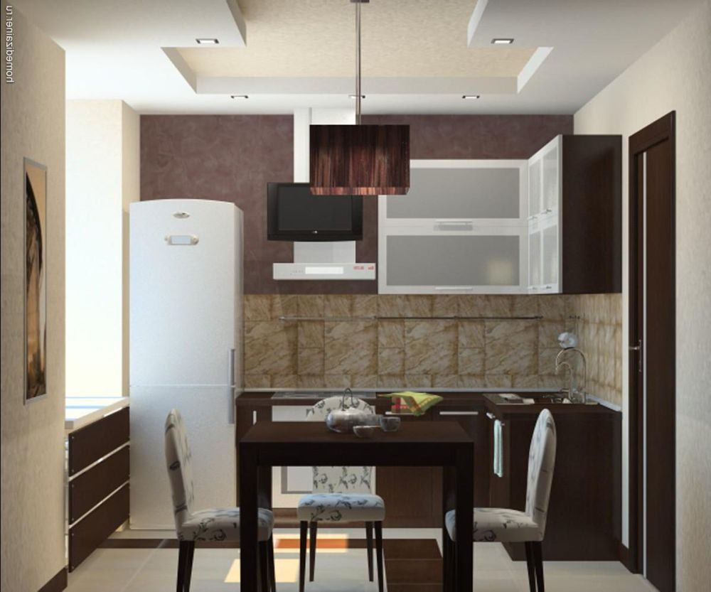 Маленькая кухня дизайн интерьера