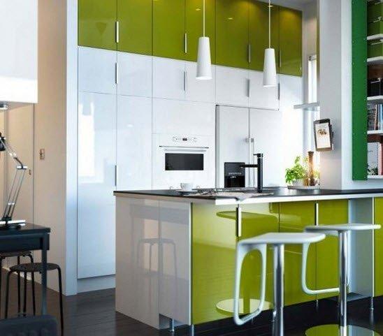 Дизайн кухни по икеа