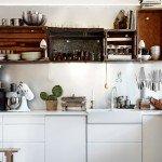дизайн кухни из пластика фото