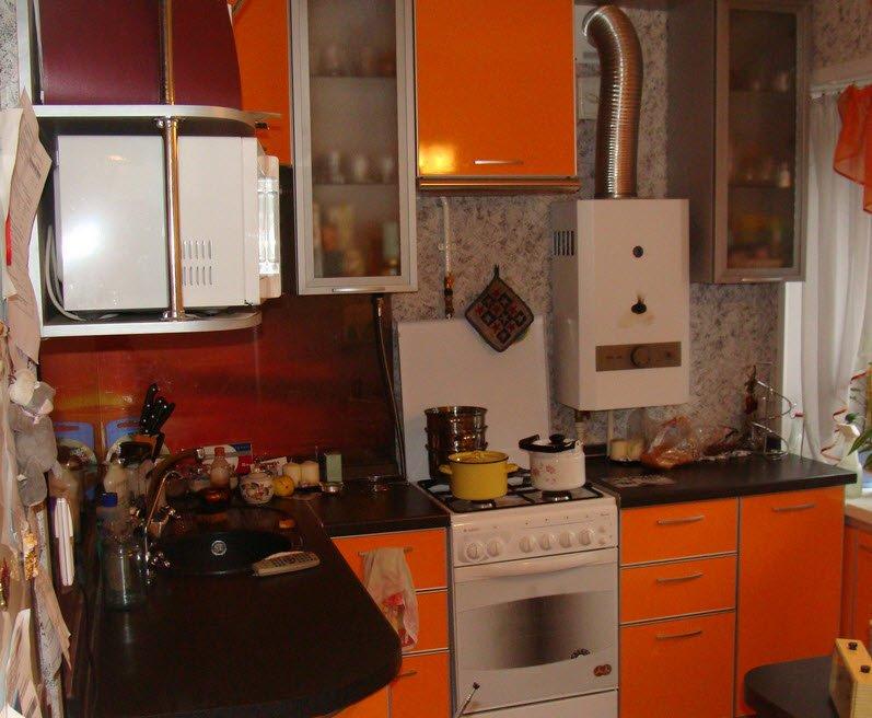 Кухни внутри