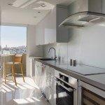 дизайн маленькой прямоугольной кухни фото