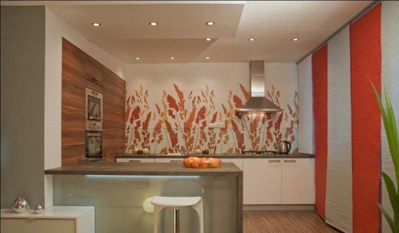 Ремонт кухни дизайн стен