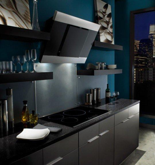 Кухонная вытяжка в интерьере фото