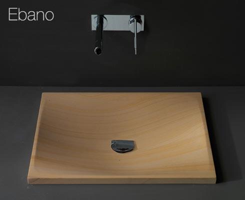 wood-sink