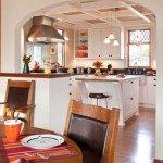 дизайн кухни с аркой фото