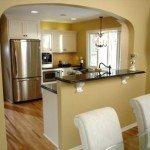 арка на кухню вместо двери