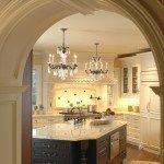 арка вместо двери на кухню фото